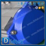 Válvula de esfera pneumática da flutuação da movimentação do aço inoxidável de Didtek