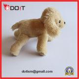 Juguete del animal doméstico del descortezamiento del juguete del perro de la felpa del perrito que recorre
