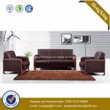 Sofa moderne de bureau de divan de cuir véritable de meubles de bureau (HX-CF005)