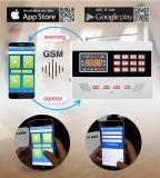 Utilisation sans fil de la maison Panneau d'alarme GSM avec clavier de presse