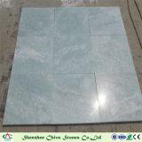 Losas/azulejos del mármol del verde de jade de Verde para la decoración de interior