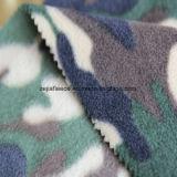 双方のブラシ1側面のAntipillingが付いているカムフラージュの北極の羊毛