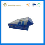 Carnet de carton ondulé recyclé imprimé personnalisé (Boîte de transport de carton)