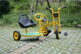 Matériel d'intérieur de cour de jeu de véhicule en plastique de jouets d'enfants
