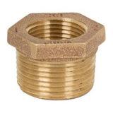 Encaixe de tubulação rosqueado cotovelo do bronze de 45 graus