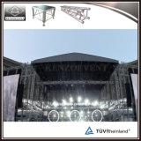 Système en aluminium d'armature de toit d'armature d'étape de concert avec l'écran de toit
