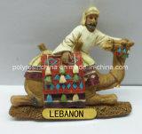 Polyresin Camal dei regali del ricordo del Medio Oriente