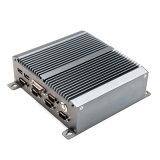 LAN van de kern I3 5010u de Dubbele Steun WiFi/3G/4G van PC RS485 van Intel Fanless Mini