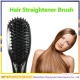 熱い販売の電気ストレートナのヘア・ブラシのデジタル毛のストレートナのブラシ