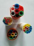 Machine à tubes à grappe de noyau de silicium en plastique