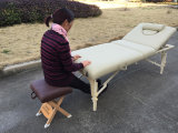 Mesa de massagem de madeira Mt-009-2W e mesa de beleza