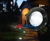 에너지 Saviing 둥근 태양 소형 LED 보도 지하 빛