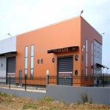 Edificios comerciales modernos portables de la estructura de acero con el espacio grande