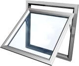 Il doppio americano di stile di scivolamento di disegno verticale di alluminio della finestra ha appeso la finestra