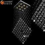 Beleuchtet moderner hängender heller hochwertiger preiswerter Anhänger 2017 dekorative Kristalllampen für Hotel-/AusgangsOm9113