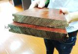Suelo de madera del entarimado/de la madera dura de la abrasión anti natural