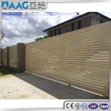 Frontière de sécurité en aluminium horizontale de qualité