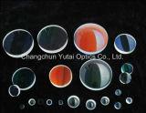 Doble óptica de lentes convexos, que magnifica la lente de cristal