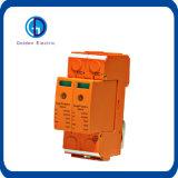C.C. SPD do SPD 48V do dispositivo de proteção do impulso de relâmpago da C.C. 12V 24V 48V 200V
