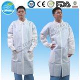 Устранимое пальто лаборатории, пальто лаборатории SMS, Nonwoven пальто лаборатории