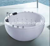 1800mm redondo Free Standing Jacuzzi 6 personas con ec RoHS (A-8346)