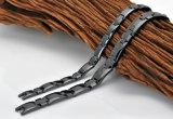 Ceramische Armband van het Hematiet van de Verkoop van Hottime de Hoogste met de Zwarte Kleur van het Kanon