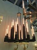 Iluminação nórdica do pendente do vintage do ferro do hotel do estilo (KAHD1375-10NI)