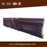 Espuma de poliuretano Cornisa material de decoración para Interior Trim
