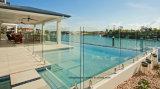 Baixo vidro endurecido do ferro para a cerca da piscina