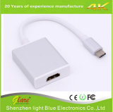 Тип c USB 3.1 к соединительная муфта с внутренней резьбой HDMI конвертер USB c к HDMI