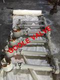 A caixa de engrenagens do sem-fim estendeu a válvula de borboleta soldada extremidade da selagem do metal da extremidade da haste (GAD363H/F)