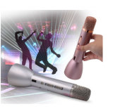 다채로운 소형 휴대용 차가운 형식 무선 Bluetooth Karaoke 콘덴서 마이크 Ss K088