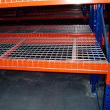Piattaforma verniciata polvere della rete metallica per la cremagliera del pallet