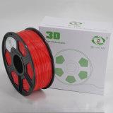 Нить принтера ABS 3D красного цвета 1.75mm 3mm сбывания фабрики
