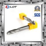 Буровой наконечник отверстия хладоагента вольфрама твердый внутренне для HRC55 степени DIN 338 345 351
