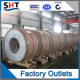 304 bobinas laminadas en caliente del acero inoxidable del No. 1
