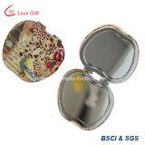 Kundenspezifischer Apple-Form PU-Pocket Spiegel-Großverkauf