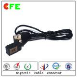 Cable connecteur de remplissage magnétique du grand dos 2pin pour le joueur d'Edia