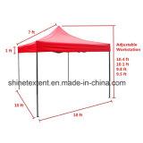 展覧会の使用法のための屋外のためのテントのおおいの上で折る赤いカラー