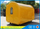 Тележки хота-дога Ys-Bf300c 3m кофеий Van тележки кофеего просторной передвижной передвижной