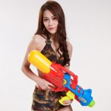 728509-Plastic Squirt il giocattolo divertente della pistola dei tiratori dell'acqua della pistola per i capretti 1600ml 509 - colore casuale