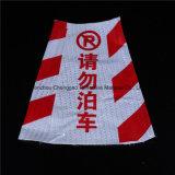 Cone de advertência plástico do tráfego da visibilidade elevada