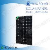 Alta mono pila solare di Efficiency250W per il tetto solare