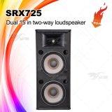 Srx725 het Dubbele Systeem van de Spreker van de Volledige Waaier van de PA van 15 Duim Audio