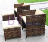 Combinación al aire libre de la silla de vector de la rota de la manera del pedal del chalet del patio del balcón