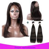 아기 머리를 가진 360의 레이스 가발 180% 조밀도 레이스 정면 사람의 모발 가발