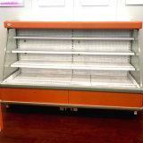 Koeler van de Vertoning Multideck van de Verkoop van de supermarkt de Hete Semi Hoge Open voor Commercieel Gebruik