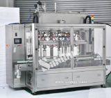 Llenador automático y máquina que capsula para producir el líquido del lavado