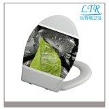 Ein Druckknopf-leuchtender Toiletten-Sitz mit reinem Muster