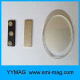 Магниты нагрудной планки с фамилией участника цвета золота высокого качества магнитные